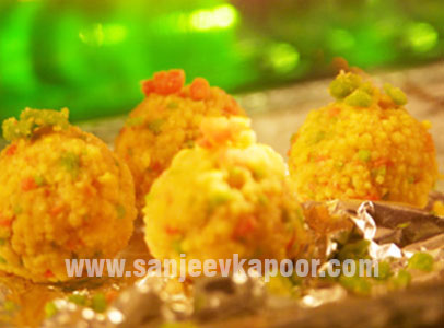 How to make boondi laddoo recipe by masterchef sanjeev kapoor forumfinder Image collections