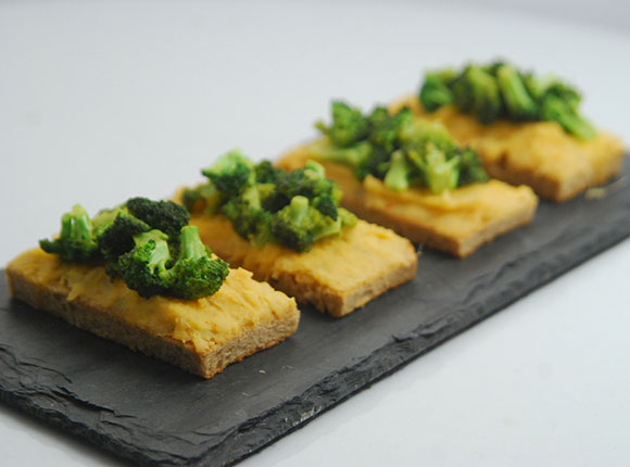 Broccoli Toast - Cook Smart