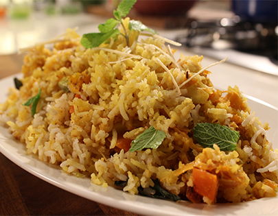 Brown Basmati Rice Biryani