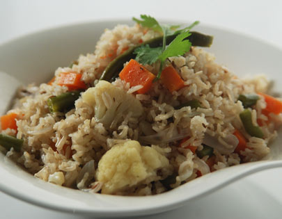 Brown Basmati Pulao