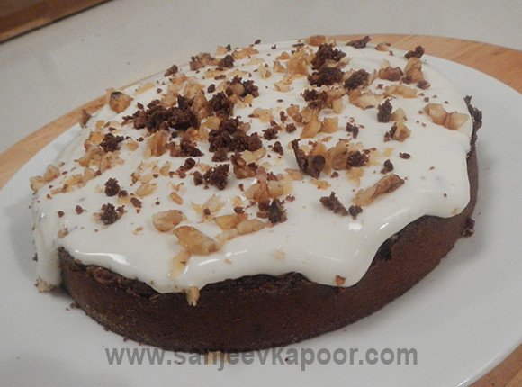 Eggless Coffee Cake By Sanjeev Kapoor