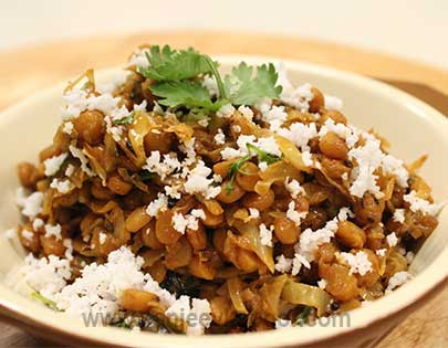CABBAGE CHANA DAL