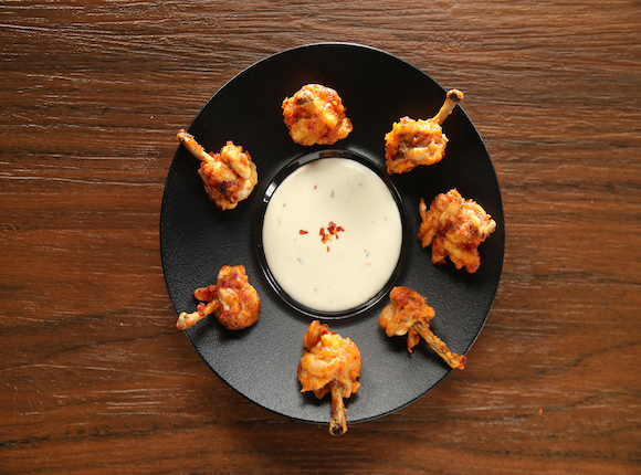 CHEESY CHICKEN LOLLIPOP - skk