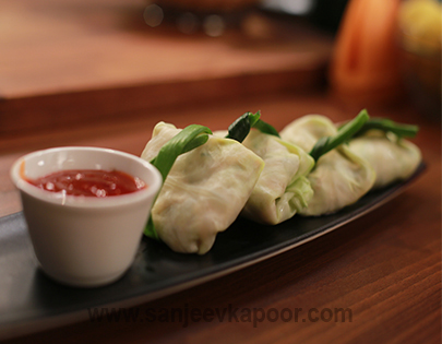 Cabbage Wrapped Dim Sums