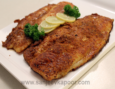 All recipes by sanjeev kapoor for Cajun fish recipe