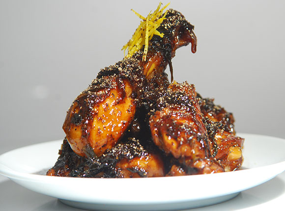 Caramelized Pepper Chicken-Cook Smart