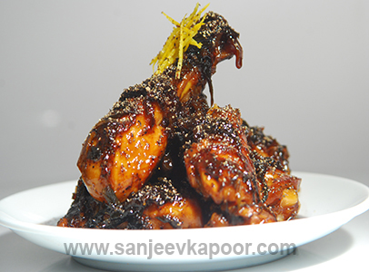 How to make caramelized pepper chicken recipe by masterchef sanjeev how to make caramelized pepper chicken recipe by masterchef sanjeev kapoor forumfinder Gallery
