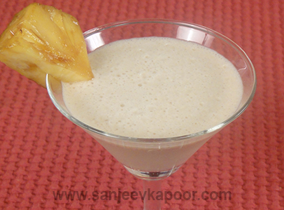 Caramelized Pineapple Slush