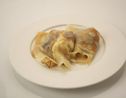 Caramelized Banana Crepes