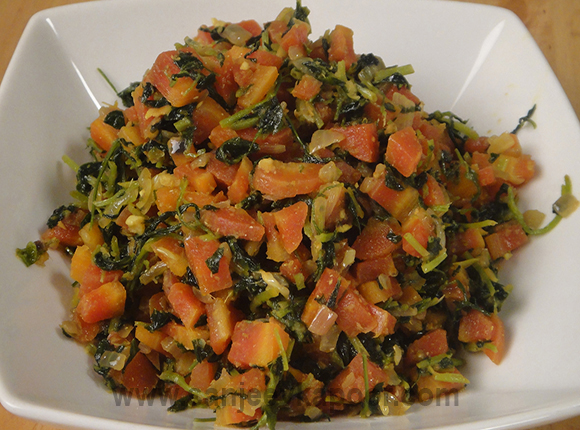 Carrot Methi Sabzi