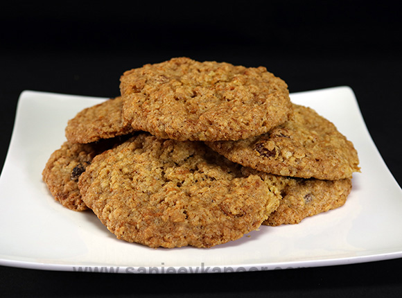 Carrot and Oatmeal Cookies