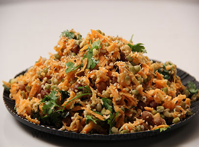 Carrot and Sprout Salad