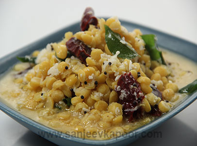 Chana Dal in Coconut Gravy