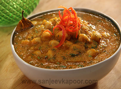 Chana aur Red Pumpkin Tariwala