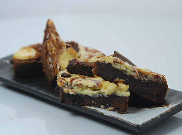 Cheesecake Brownies-Cook Smart