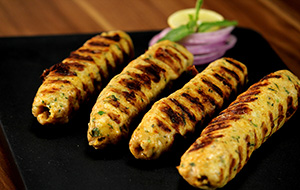 Cheesy Seekh Kabab