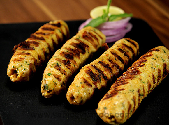 Cheesy Seekh Kebab