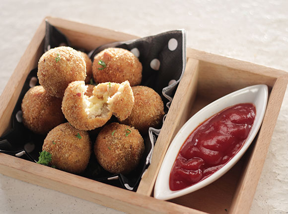 Chicken Cheese Bombs-SK Khazana