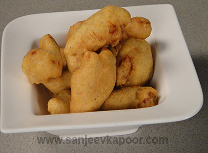 Chicken Dal Pakoda