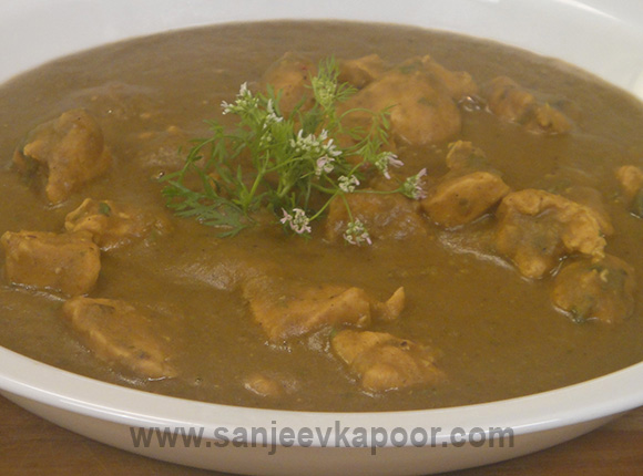 Chicken Dhansaak