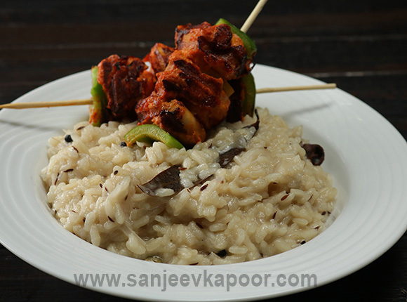 Chicken Tikka Risotto