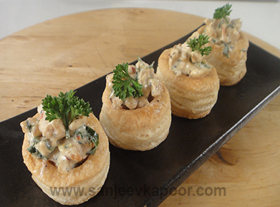 Chicken Vol-au-vent