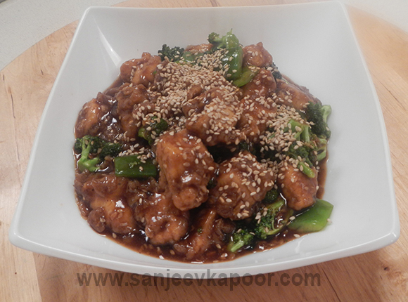 Chicken and Broccoli with Pepper