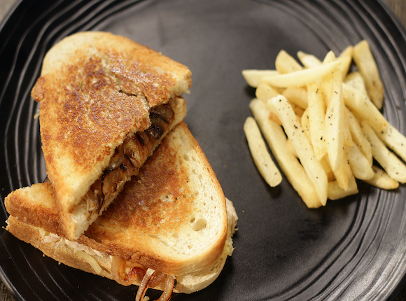 Chicken and Caramelised Onion Sandwich - SK Khazan
