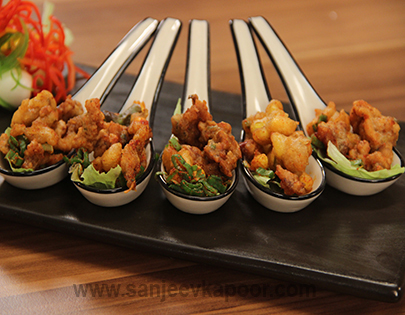 Food recipes by master chef sanjeev kapoor chicken and corn nibblets forumfinder Choice Image