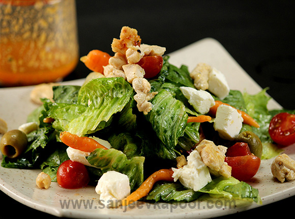 How to make Chicken and Feta Salad, recipe by MasterChef ...