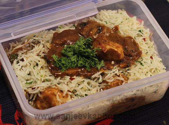 Chicken in Creamy Barbeque Sauce