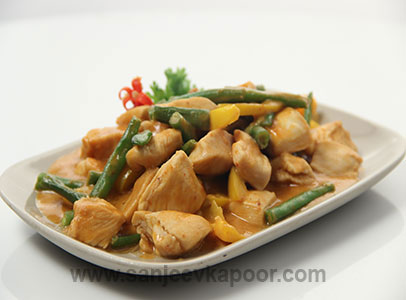 Chicken in Peanut Butter Sauce