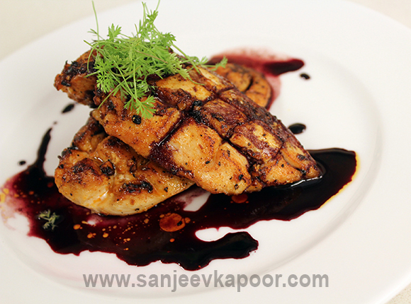 How To Make Chicken In Red Wine Sauce Recipe By Masterchef Sanjeev Kapoor