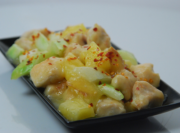 Chicken with Pineapple-Cook Smart