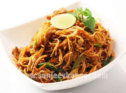 Chicken Tikka Noodles