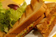Chicken Tikka Sandwich