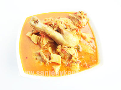 Chicken With Bamboo Shoots