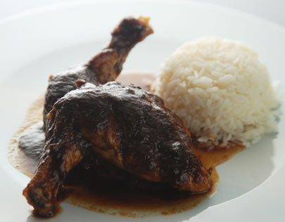 Chicken in Tamarind Sauce with Jasmine Rice