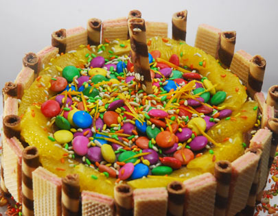 How To Make Childrens Party Cake Recipe By MasterChef Sanjeev Kapoor