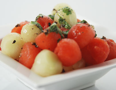 Chilled Melon Ball Salad