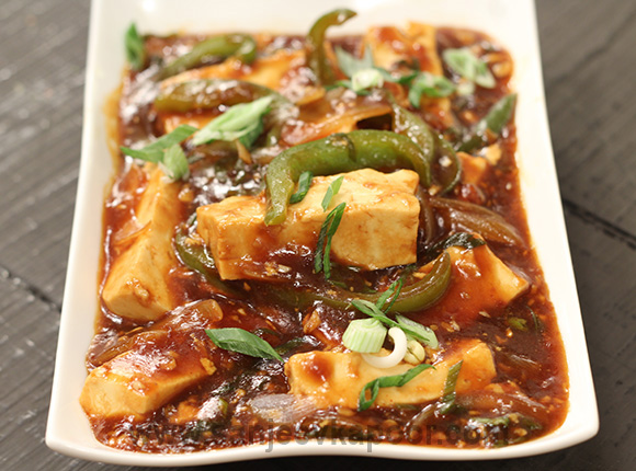 How to make chilli paneer recipe by masterchef sanjeev kapoor chilli paneer recipe card forumfinder Choice Image