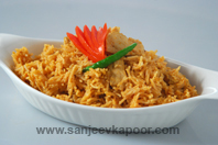 Chilli Chicken Tomato Pulao