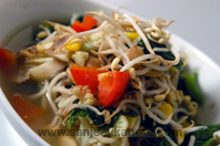 Chilli Lemon Stewed Vegetables With Noodles