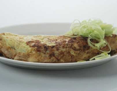 Chinese Prawn And Mushroom Omlette