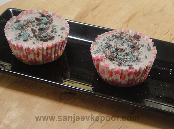Choco Mint Mini Cheesecakes