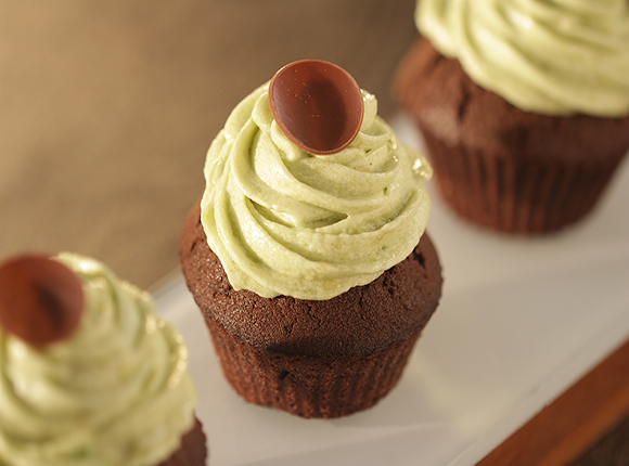 Chocolate Cake with Avocado Frosting - SK Khazana