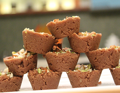 Chocolate Gor Papdi