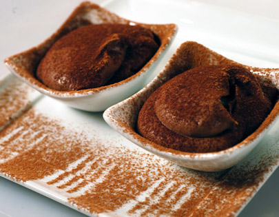Chocolate And Beancurd Mousse