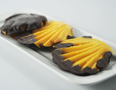 Chocolate Coated Mango