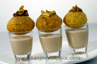 Chocolate Golgappe